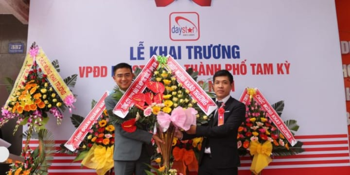 Công ty tổ chức lễ khai trương giá rẻ tại Quảng Nam | Khai trương Văn phòng Đại diện Daystar