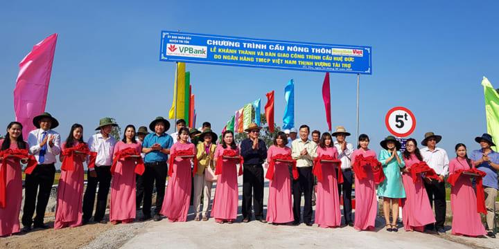 Công ty tổ chức lễ khánh thành giá rẻ tại An Giang I Lễ khánh thành 16 cây cầuhuyện Tri Tôn – An Giang