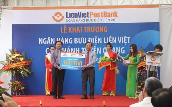 Công ty tổ chức lễ khai trương giá rẻ tại Tuyên Quang | Khai trương chi nhánh mới nhất của LienVietPostBank
