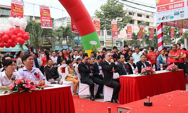 Công ty tổ chức lễ khai trương giá rẻ tại Trà Vinh | Khai trương TTMS Nguyễn Kim