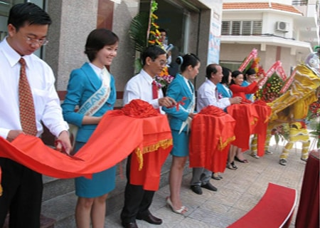 Công ty tổ chức lễ khánh thành giá rẻ tại Vĩnh Long | Chi nhánh ABBANK Vĩnh Long khánh thành trụ sở mới