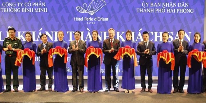 Công ty tổ chức lễ khánh thành chuyên nghiệp tại Hải Phòng | Khánh thành khách sạn 5 sao đầu tiên tại khu du lịch Cát Bà