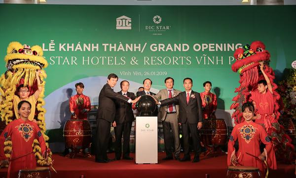Công ty tổ chức lễ khánh thành giá rẻ tại Vĩnh Phúc I Khánh thành Khách sạn DIC Star