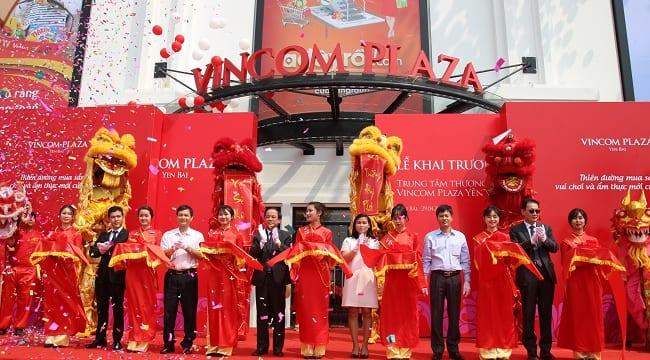 Công ty tổ chức lễ khai trương giá rẻ tại Yên Bái I Khai trương Vincom Plaza