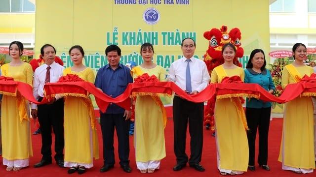Công ty tổ chức lễ khánh thành giá rẻ tại Trà Vinh | Khai trương  Bệnh viện Trường Đại học Trà Vinh