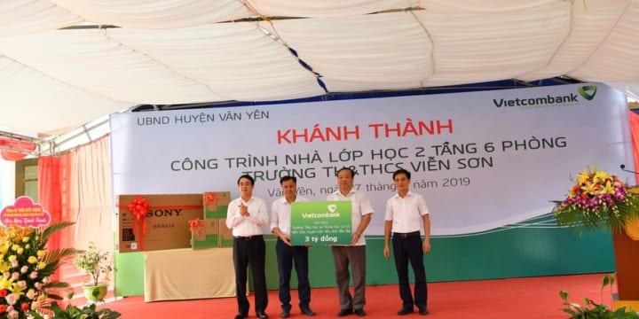 Công ty tổ chức lễ khánh thành giá rẻ tại Yên Bái I Lễ khánh thành công trình lớp học Trường TH&THCS Viễn Sơn