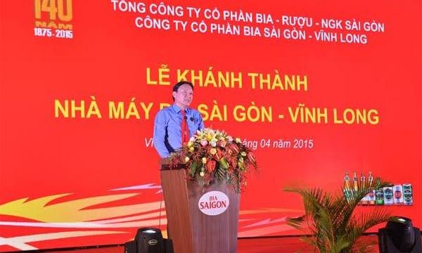 Công ty tổ chức lễ khai trương giá rẻ tại Vĩnh Long I Khánh thành Nhà máy Bia Sài Gòn Vĩnh Long