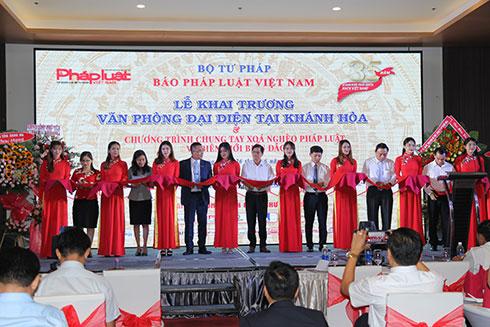 Công ty tổ chức lễ khải trương tại Khánh Hòa | Báo Pháp luật Việt Nam khai trương Văn phòng đại diện tại Khánh Hòa