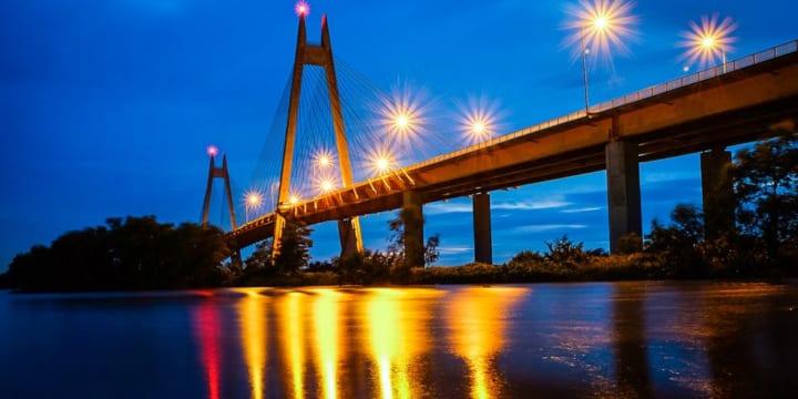 Công ty tổ chức lễ khánh thành chuyên nghiệp tại Hải Phòng | Khánh thành Cầu Bính bắc qua sông Cấm