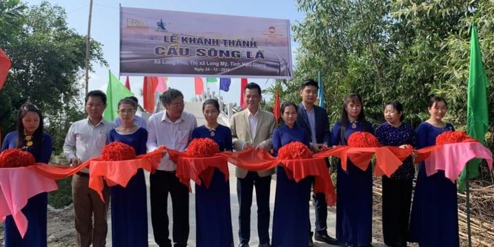 Công ty tổ chức lễ khánh thành chuyên nghiệp tại Hậu Giang | Khánh thành Cầu Sông Lá ở Hậu Giang trước thềm năm mới