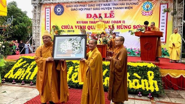 Công ty tổ chức lễ khánh thành chuyên nghiệp tại Hải Dương   Khánh thành tu bổ, tôn tạo một trong những ngôi chùa lớn nhất Hải Dương