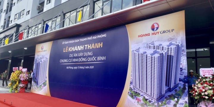 Công ty tổ chức lễ khánh thành chuyên nghiệp tại Hải Phòng | Lễ khánh thành tòa chung cư HH4