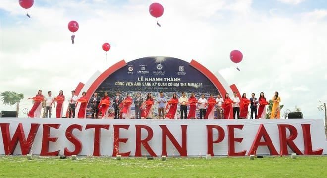 Công ty tổ chức lễ khánh thành chuyên nghiệp tại Hậu Giang | Khánh thành công viên kỳ quan cổ đại, du lịch tỉnh gia tăng hấp lực