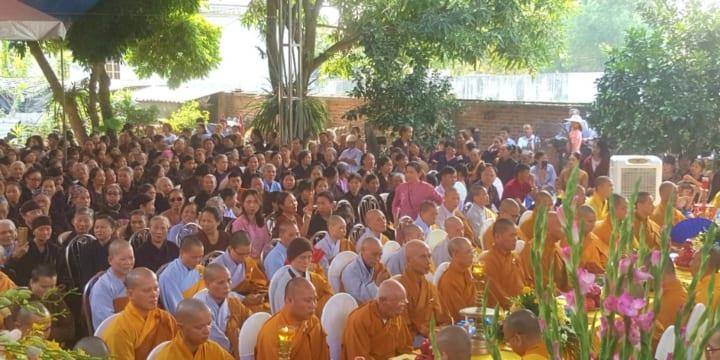 Công ty tổ chức lễ khánh thành chuyên nghiệp tại Hải Dương    Khánh thành ngôi Đại Hùng Bảo Điện chùa Vân Tiên