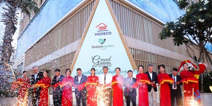 Công ty tổ chức lễ khai trương giá rẻ tại Bà Rịa – Vũng Tàu I Lễ khai trương khách sạn Fushion Suites của Hodeco