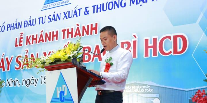 Công ty tổ chức lễ khánh thành chuyên nghiệp tại Hải Dương    Lễ khánh thành nhà máy sản xuất bao bì HCD