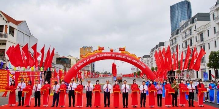 Công ty tổ chức lễ khánh thành chuyên nghiệp tại Hải Phòng | Thủ tướng về dự lễ khánh thành những dự án trọng điểm