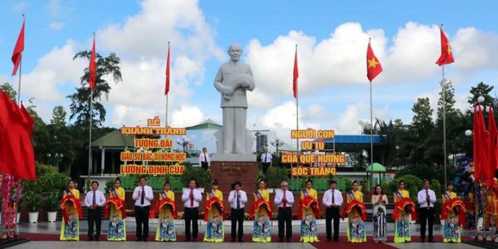 Công ty tổ chức lễ khánh thành chuyên nghiệp tại Sóc Trăng | Khánh thành tượng đài nhà nông học Lương Định Của