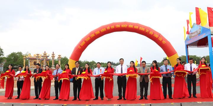 Công ty tổ chức lễ khánh thành chuyên nghiệp tại Quảng Trị | Khánh thành dự án Đường trung tâm trục dọc khu kinh tế Đông Nam Quảng Trị