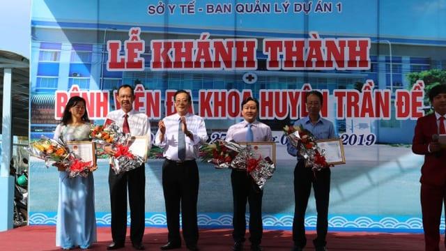 Công ty tổ chức lễ khánh thành chuyên nghiệp tại Sóc Trăng | Khánh thành Bệnh viện Đa khoa Trần Đề