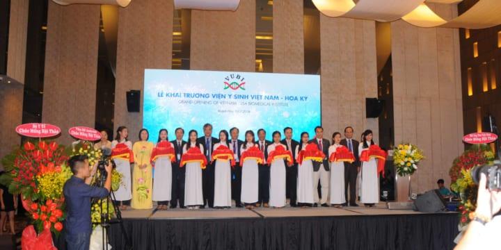 Tổ chức Lễ khai trương tại Khánh Hòa | LỄ KHAI TRƯƠNG VIỆN Y SINH VIỆT NAM – HOA KỲ