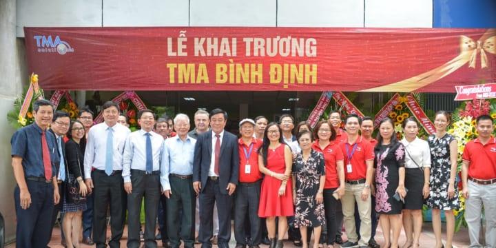 Công ty tổ chức lễ khai trương giá rẻ tại Bình ĐịnhI TMA khai trương văn phòng