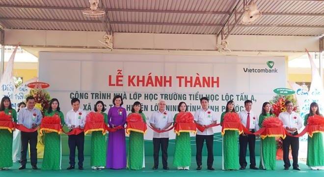 Công ty tổ chức lễ khánh thành giá rẻ tại Bình PhướcI Lễ khánh thành Trường tiểu học Lộc Tấn A