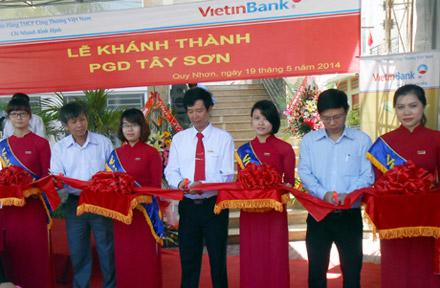 Công ty tổ chức lễ khánh thành giá rẻ tại Bình ĐịnhIVietinBank Bình Định khánh thành trụ sở mới