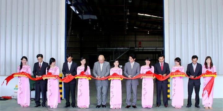 Công ty tổ chức lễ khánh thành giá rẻ tại Bình DươngI GSV khánh thành nhà máy thứ hai