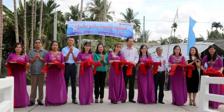 Công ty tổ chức lễ khánh thành chuyên nghiệp tại Sóc Trăng | Khánh thành cầu giao thông tại xã Kế Thành, tỉnh Sóc Trăng