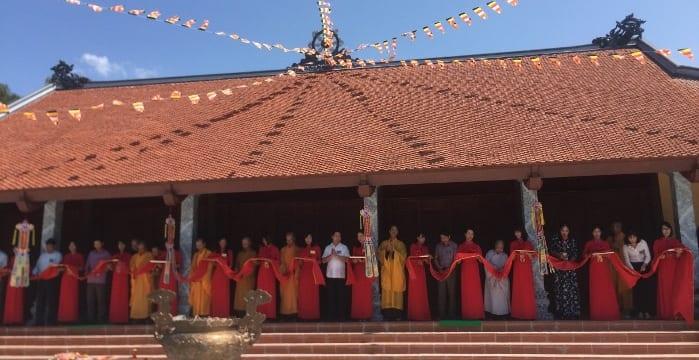 Tổ chức lễ khánh thành tại Phú Thọ | Lễ khánh thành Chùa Thiền Lâm