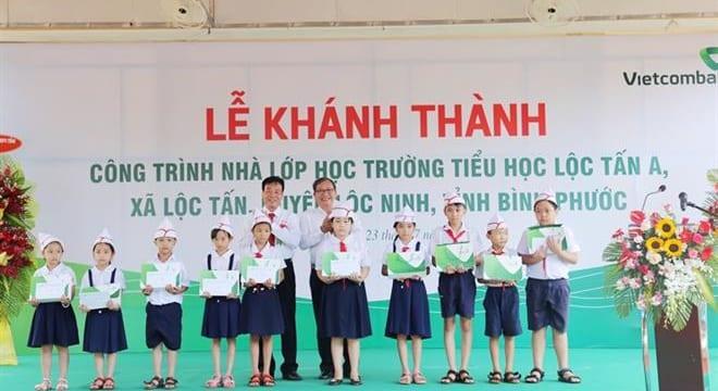 Công ty tổ chức lễ khánh thành giá rẻ tại Quảng Bình | Khánh thành Công trình phòng học Trường tiểu học Lộc Tấn A