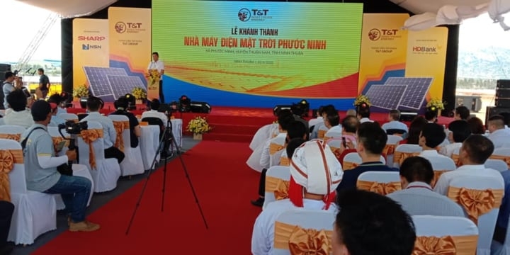 Công ty tổ chức lễ khai trương giá rẻ tại Ninh Thuận I Lễ Khánh thành Nhà máy điện mặt trời Phước Ninh