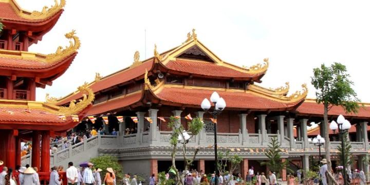 Công ty tổ chức lễ khánh thành chuyên nghiệp tại Hậu Giang | Khánh thành Thiền viện Trúc Lâm Hậu Giang