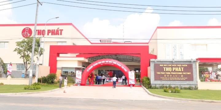 Công ty tổ chức lễ khánh thành chuyên nghiệp tại TP Hồ Chí Minh | Lễ khánh thành Nhà máy chế biến thực phẩm Thọ Phát