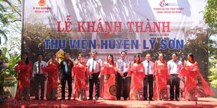 Công ty tổ chức lễ khánh thành chuyên nghiệp tại Quảng Ngãi | Lễ khánh thành Thư viện huyện Lý Sơn