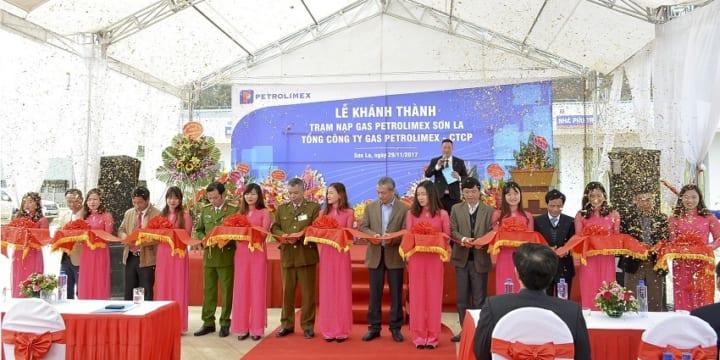 Công ty tổ chức lễ khánh thành chuyên nghiệp tại Sơn La | Khánh thành Trạm nạp Gas Petrolimex Sơn La