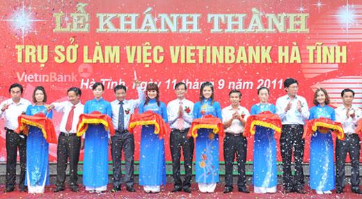 Công ty tổ chức lễ khánh thành chuyên nghiệp tại Hà Tĩnh    Khánh thành Trụ sở làm việc VietinBank Hà Tĩnh