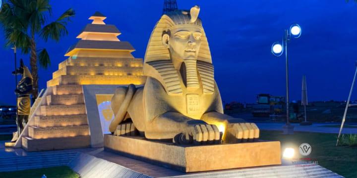 Công ty tổ chức lễ khánh thành chuyên nghiệp tại Hậu Giang | Khánh thành công viên ánh sáng kỳ quan cổ đại The Miracle