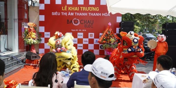 Công ty tổ chức lễ khai trương giá rẻ tại Thanh Hóa I Lễ khai trương Bảo Châu Audio
