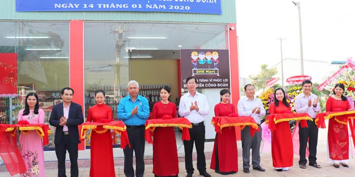Công ty tổ chức lễ khai trương giá rẻ tại An Giang I Khai trương cửa hàng tiện ích công đoàn An Giang