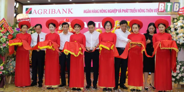 Công ty tổ chức lễ Khai trương giá rẻ tại Thái Bình I Lễ khai trương Ngân hàng Agribank chi nhánh Bắc Thái Bình