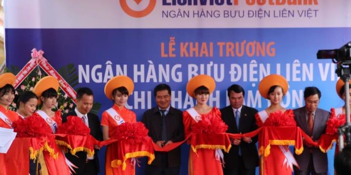 Công ty tổ chức lễ khai trương giá rẻ tại Lâm Đồng I Khai trương Ngân hàng Bưu điện Liên Việt