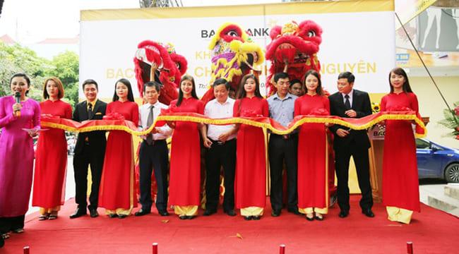Công ty tổ chức lễ Khai trương chuyên nghiệp tại Thái Nguyên I Lễ khai trương Ngân hàng TMCP Bắc Á