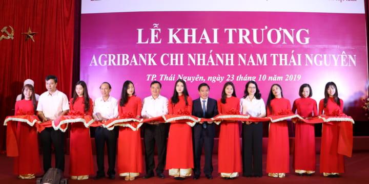 Công ty tổ chức lễ Khai trương giá rẻ tại Thái Nguyên I Lễ khai trương Agribank chi nhánh nam Thái Nguyên