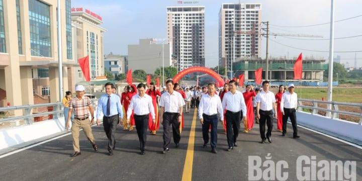 Công ty tổ chức lễ khánh thành giá rẻ tại Bắc Giang I Tổ chức lễ khánh thành cầu vuợt  Xương Giang