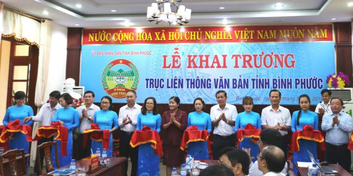 Công ty tổ chức lễ khai trương giá rẻ tại Bình PhướcIKhai trương Trục liên thông văn bản
