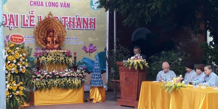 Công ty tổ chức lễ khánh thành giá rẻ tại Bắc Ninh I Lễ khánh thành chùa Long Vân