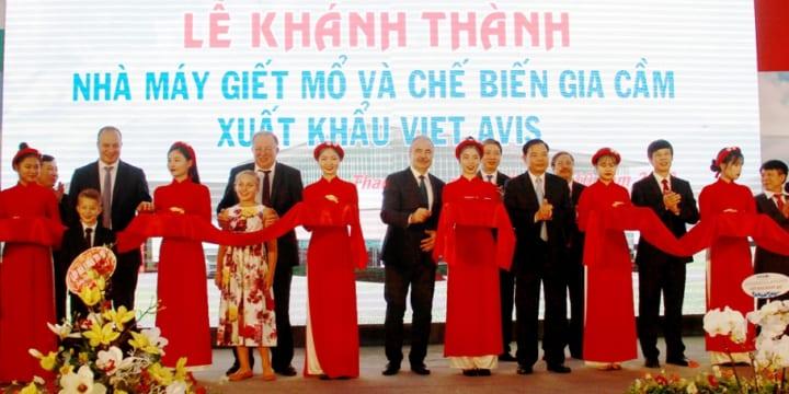 Công ty tổ chức lễ khánh thành chuyên nghiệp tại Thanh Hóa I Lễ khánh thànhNhà máy giết mổ và chế biến gia cầm xuất khẩu Viet AVIS.