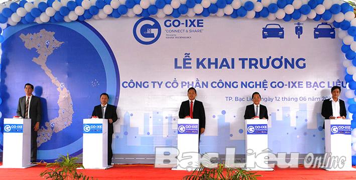 Công ty tổ chức lễ Khai trương giá rẻ tại Bạc Liêu I Lễ khai trương Công ty Công nghệ Go-ixe Việt Nam